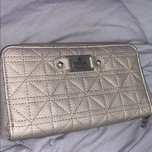 Nicole Silver Wallet